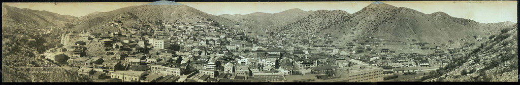 Panorama of Bisbee, Arizona, 1916