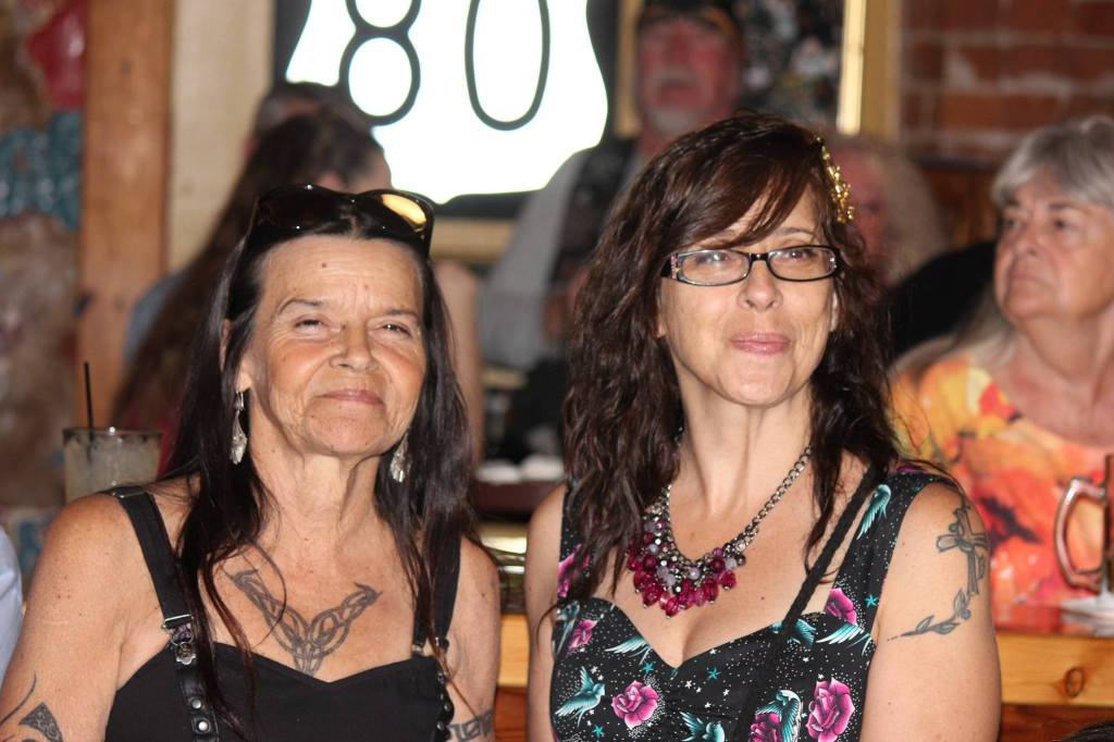 Terry Wolf & her sister Diane Deleso
