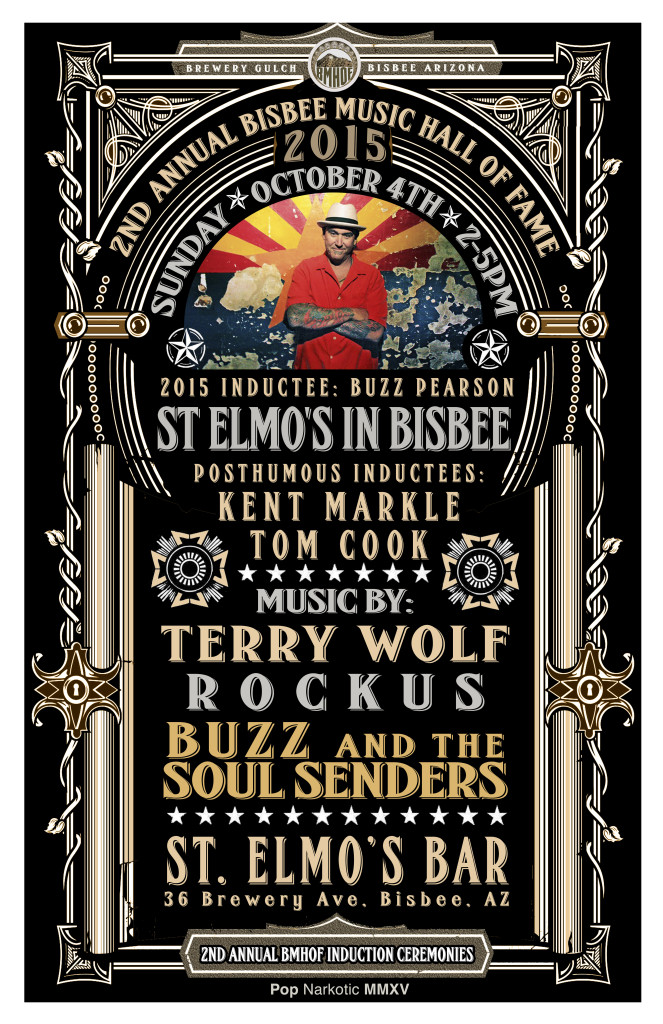 Bisbee Music Hall Of Fame Inductees 2015