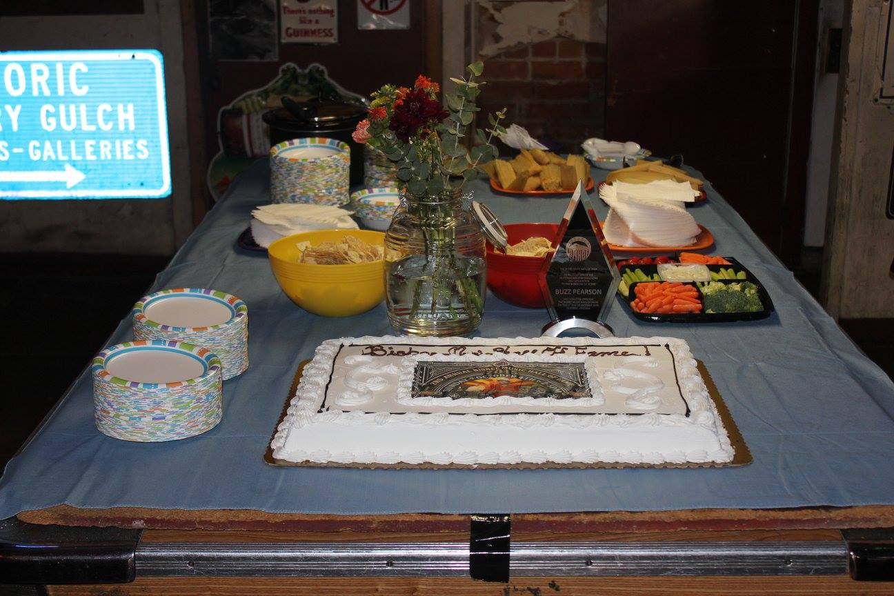 Induction party 2015 bisbee music hall of fame for Table induction