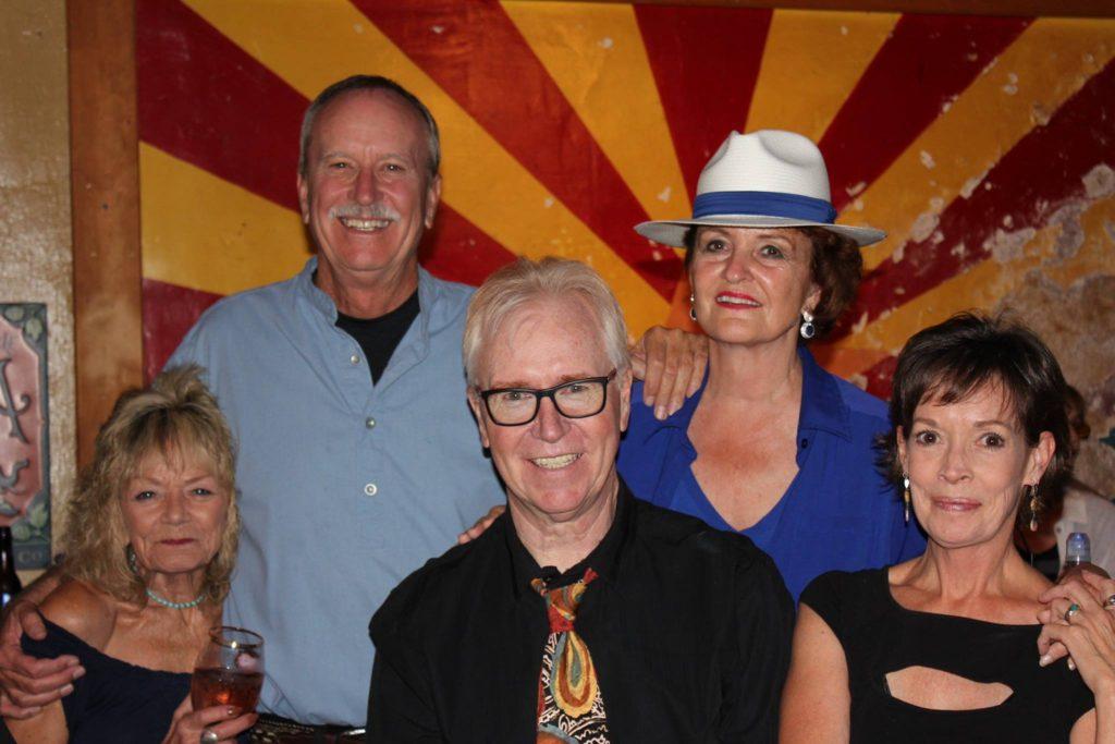 Julie Goldstrom, Stephen Gobby, Karen Justice and Victoria Payne
